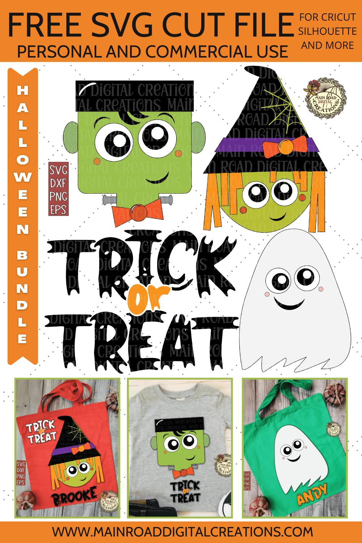 Free Halloween Trick or Treat SVG