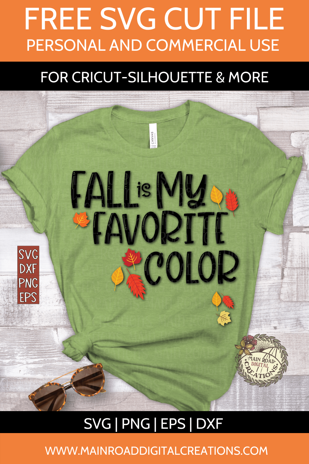 Fall is my favorite color Free Svg