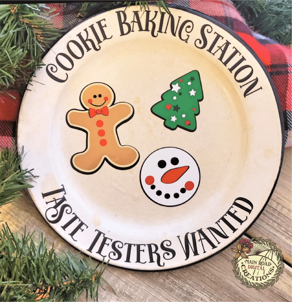 free cookie plate svg, holiday svg free, cute gingerbread man, christmas svg free, holiday cut files free, cricut files free