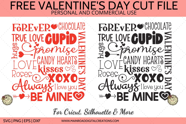 free valentines day svg