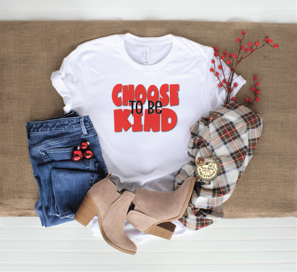 choose to be kind free svg