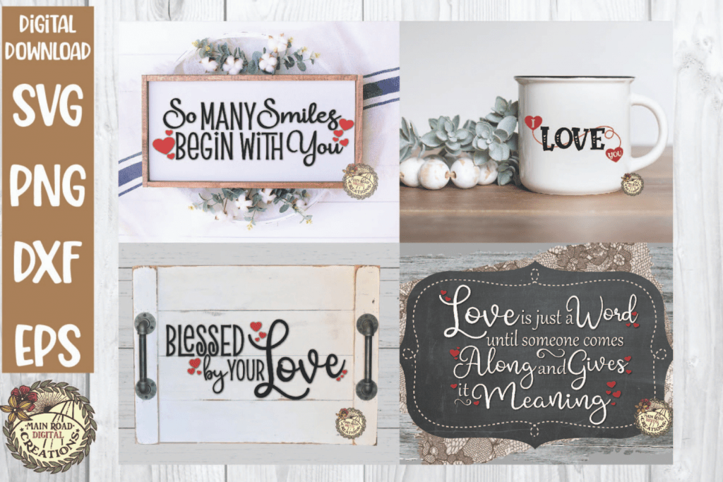 Love bundle svg on etsy