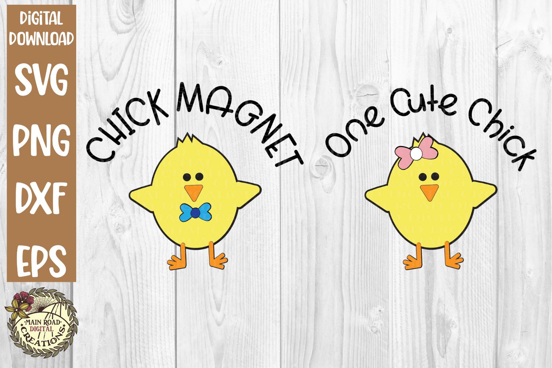 Free Easter Chicks SVG