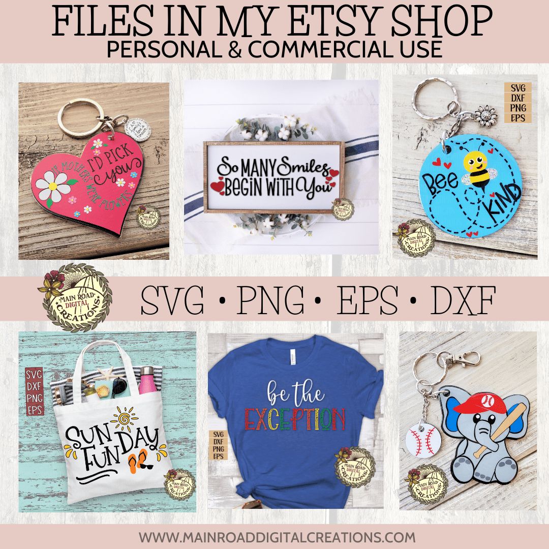 SVG FILES IN MY ETSY SHOP
