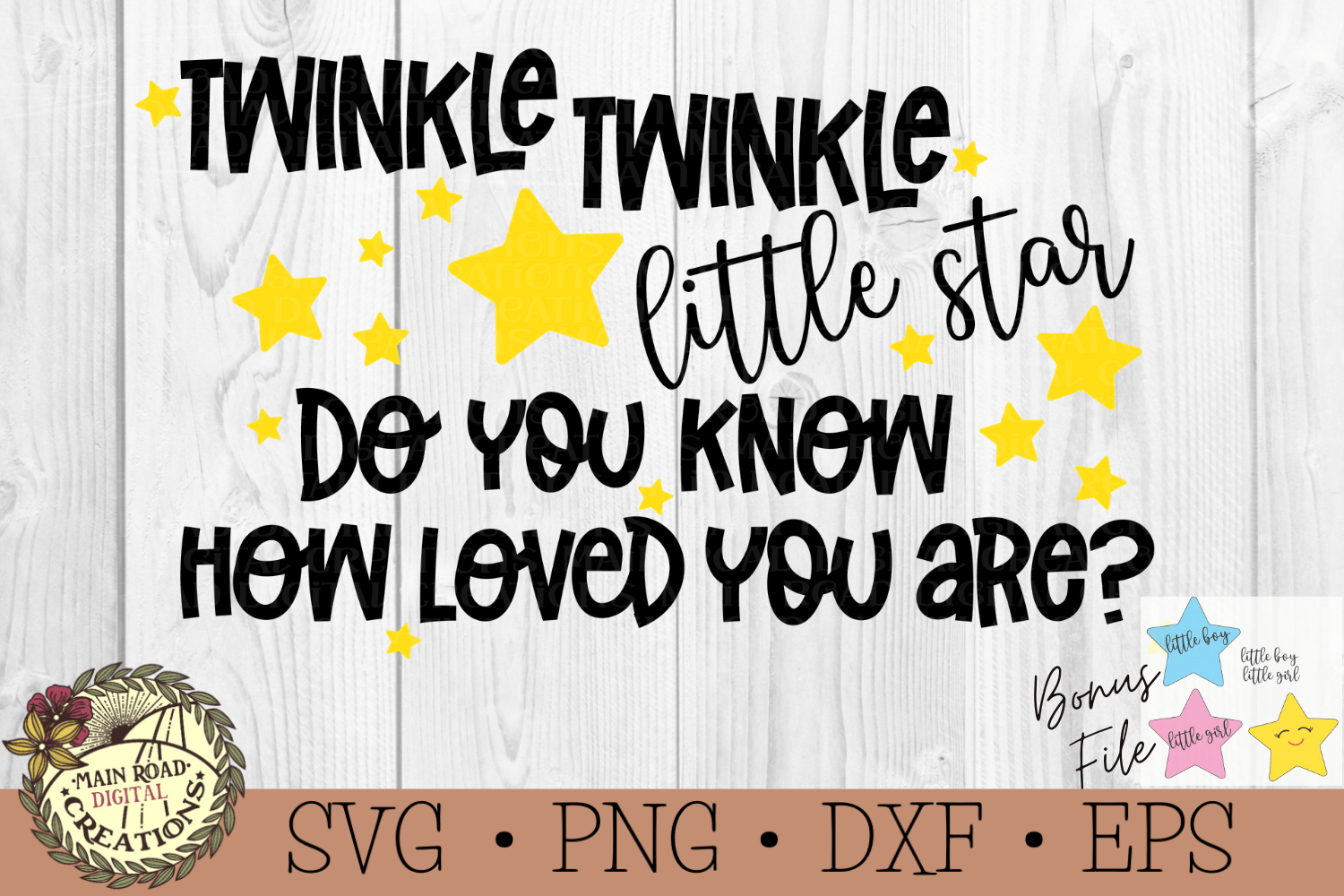 Free Twinkle Twinkle Little Star SVG