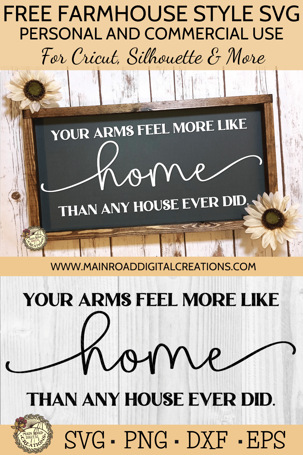 FREE FARMHOUSE STYLE SVG, FREE HOME SVG, CHALKBOARD SIGN