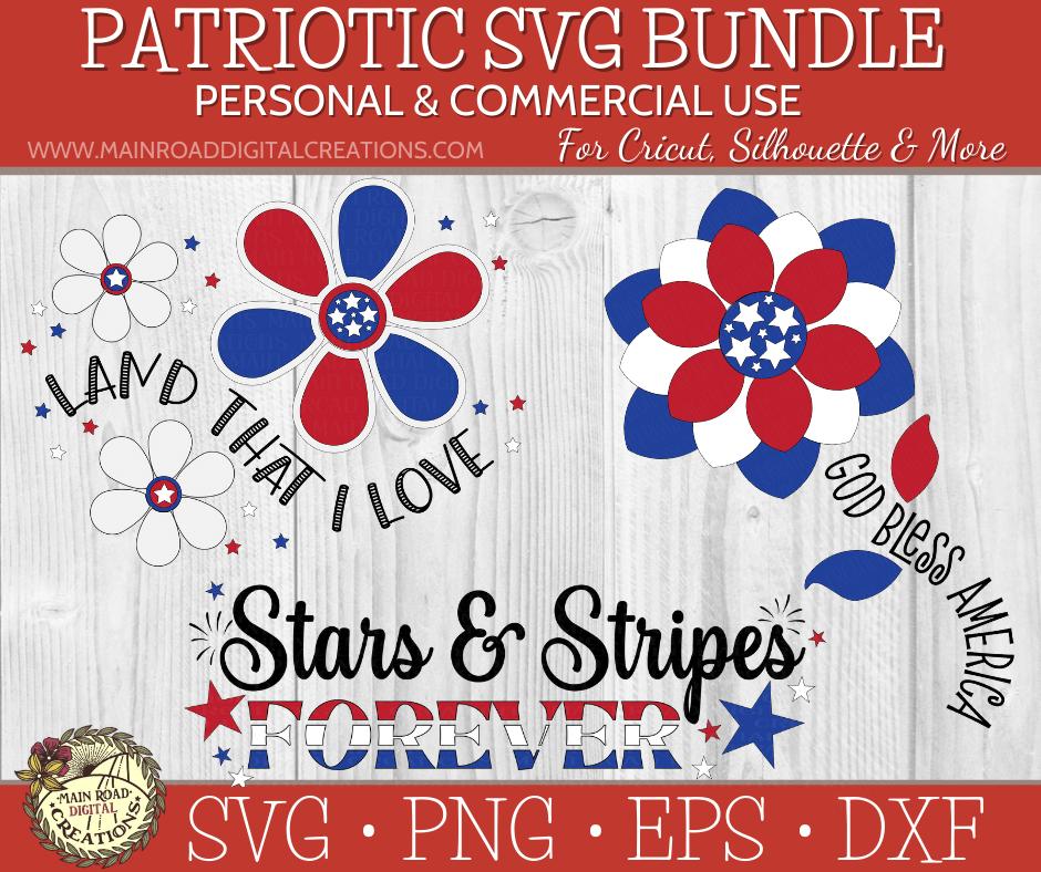patriotic svg bundle on design bundles