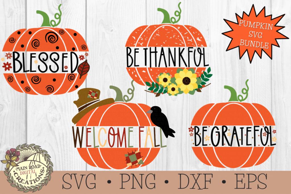 pumpkin svg bundle, sunflower pumpkin svg, be thankful svg, blessed svg, welcome fall svg, be grateful svg, scarecrow svg, crow svg, sunflower svg