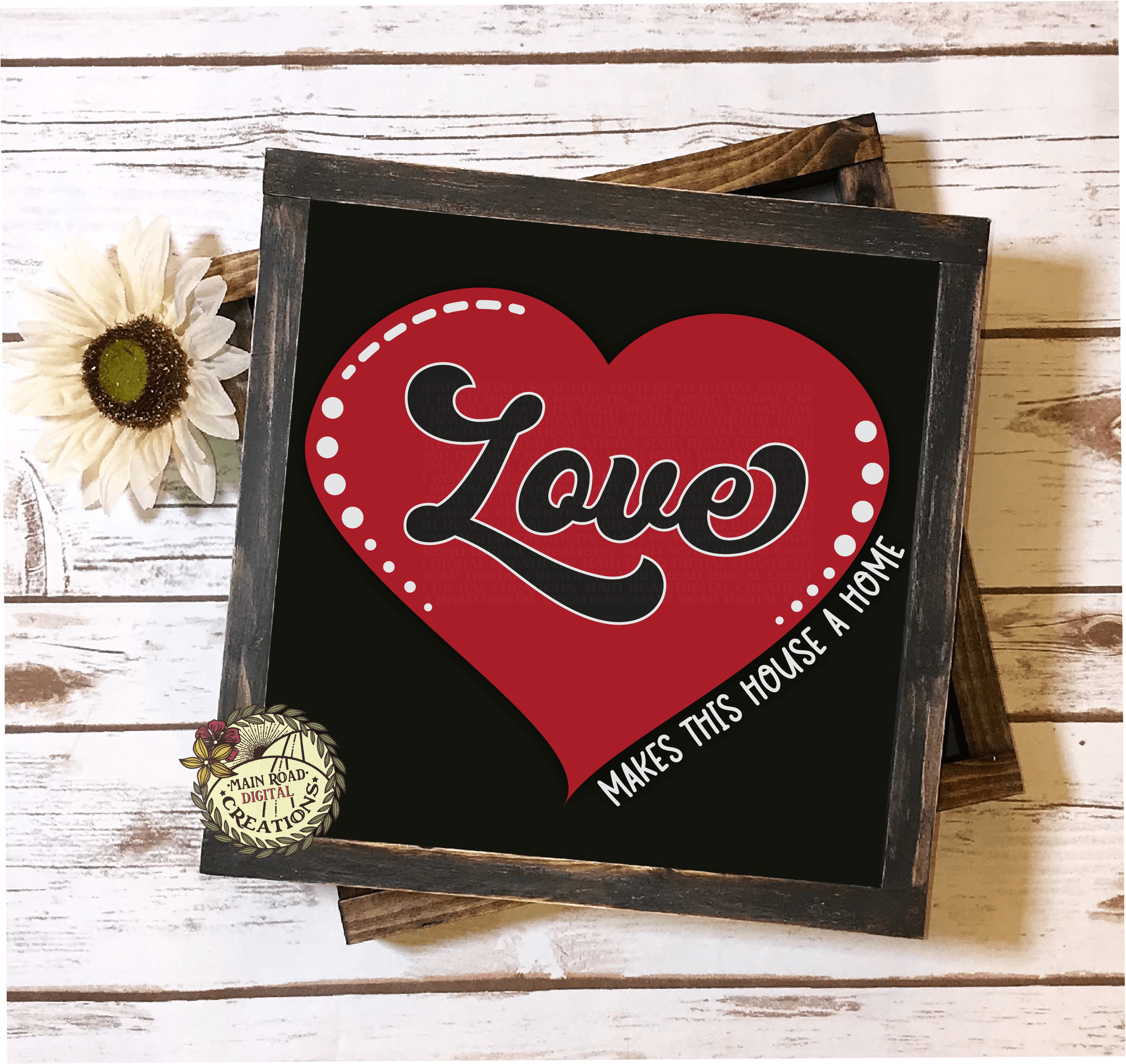 free svg, free love makes this house a home cut file, love svg free, framed svg idea