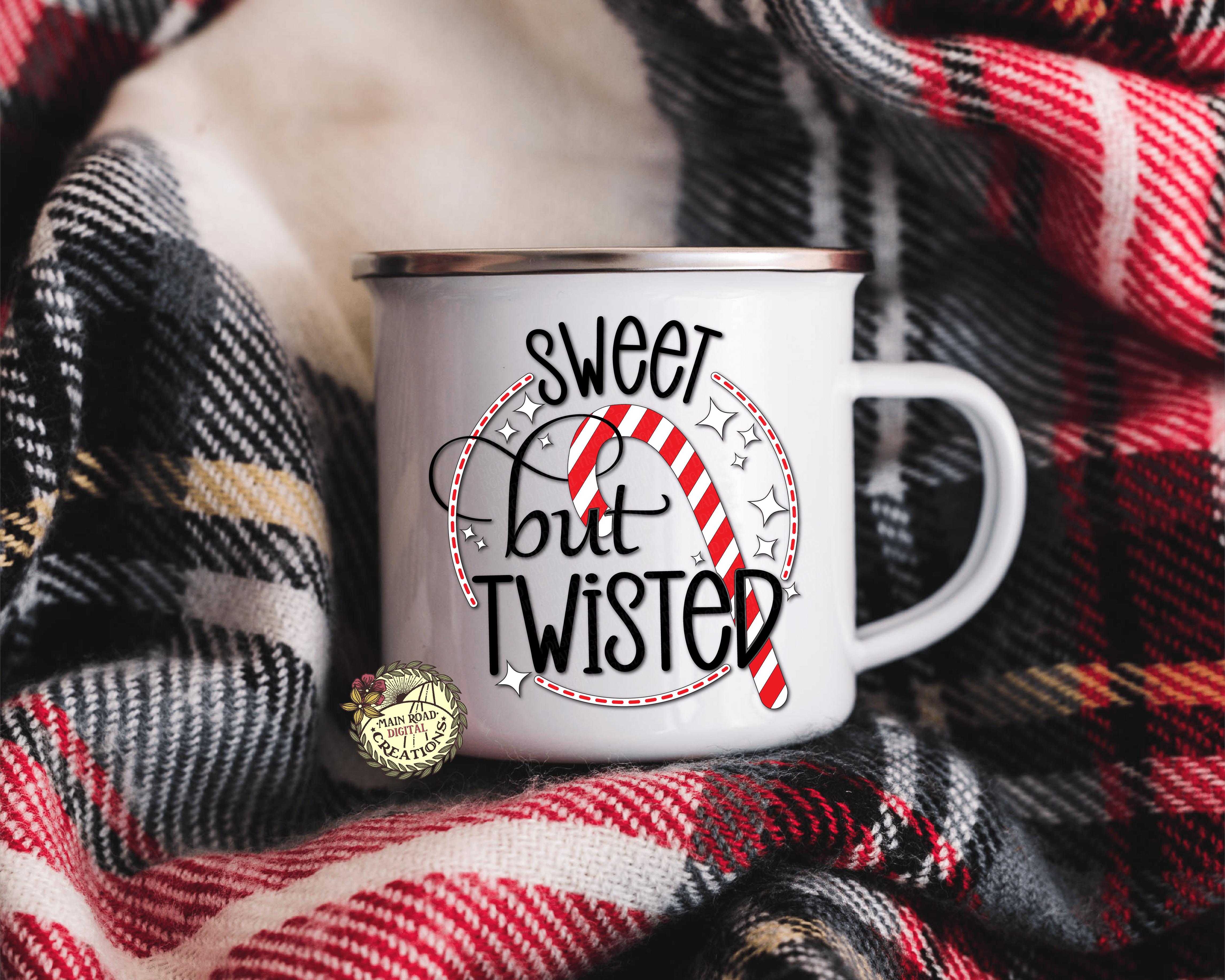 sweet but twisted free svg, svg for mugs, holiday cut files free, candy cane svg free