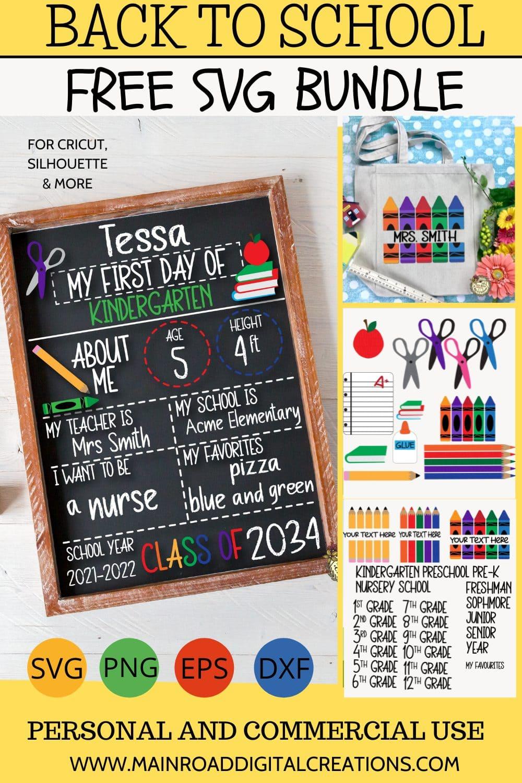 back to school svg free, chalkboard sign svg, welcome back to school svg free, school clipart free, crayon monogram svg free, teacher gift ideas, pencil svg, crayon svg