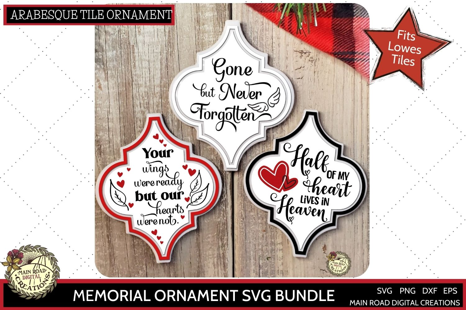 etsy shop, arabesque ornament svg, memorial ornament design, your wings were ready but our hearts were not, memorial quotes, memory ornament svg