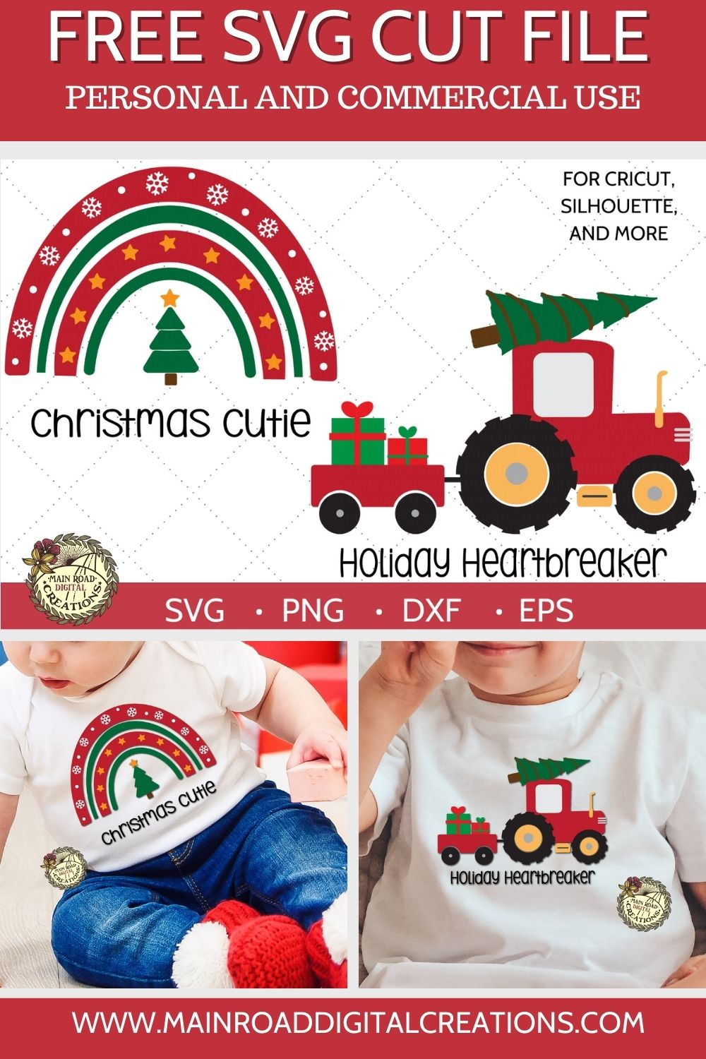 Free Christmas cut files, Christmas cutie free svg, Holiday Heartbreaker Christmas Tree tractor, Boy t shirt Christmas design, Girl t shirt Christmas design, Christmas Cute SVG, Christmas tractor with presents cut file, Christmas SVG Files free
