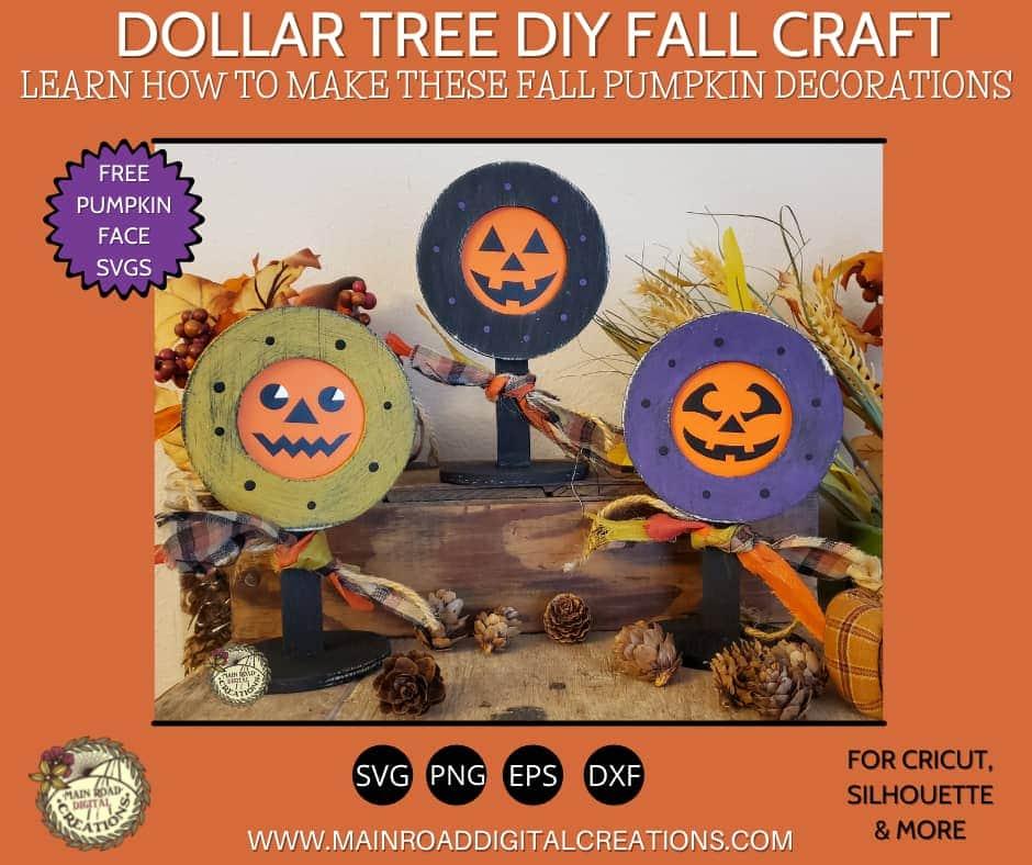 free halloween svg, pumpkin face cut file free, dollar tree halloween tutorial, dollar tree crafts, dollar tree diy,  halloween crafting