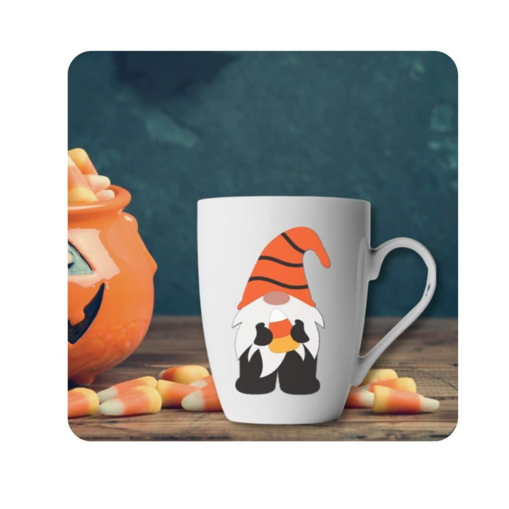 free gnome SVG, Halloween Gnome SVG free, gnome halloween cut file, candy corn clipart, Halloween design, Cricut Halloween Cut file free