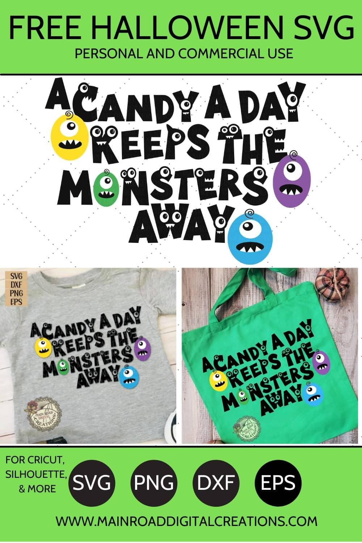 free Halloween svg, Halloween design for monster, cute monster design, Halloween candy, Halloween SVG free design