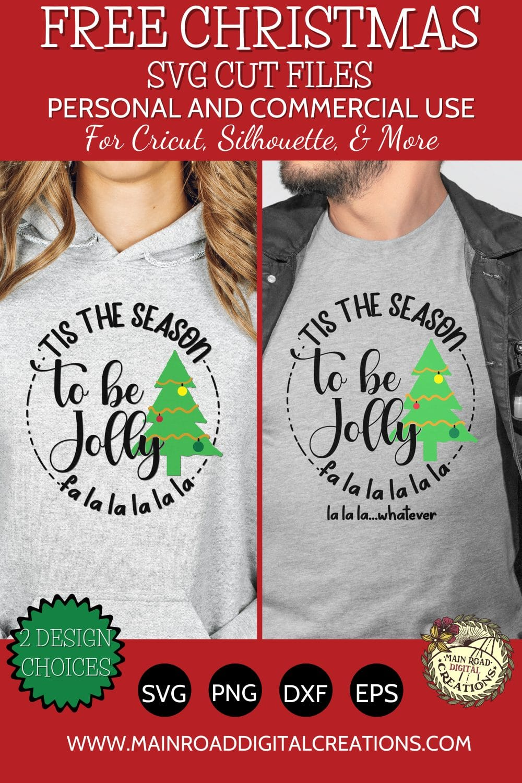 Christmas SVG free, Tis the season to be jolly design, Christmas quotes, Christmas shirts for couples, funny couple Christmas designs, Christmas cut files for Cricut, Christmas sayings with humor, Christmas tree svg